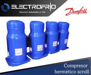 Electrofrío - Compresor hermético scroll 2