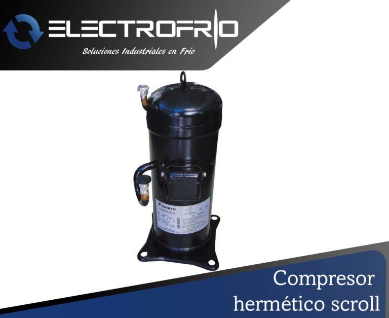 Elementor - Compresor hermético scroll