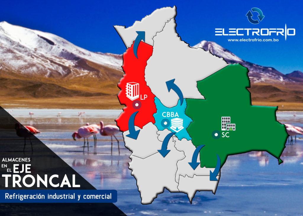Electrofrío - Tenemos almacenes en el Eje Troncal de Bolivia 2