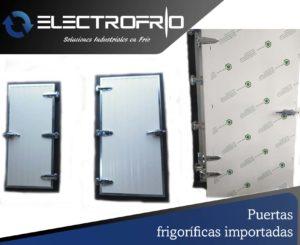 Electrofrío - Puertas frigoríficas importadas
