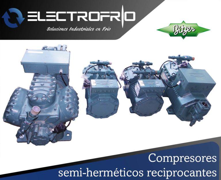 Electrofrío - Compresor semi-hermético reciprocante 2
