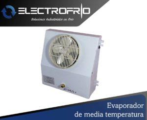 Electrofrío - Evaporador de media temperatura 2