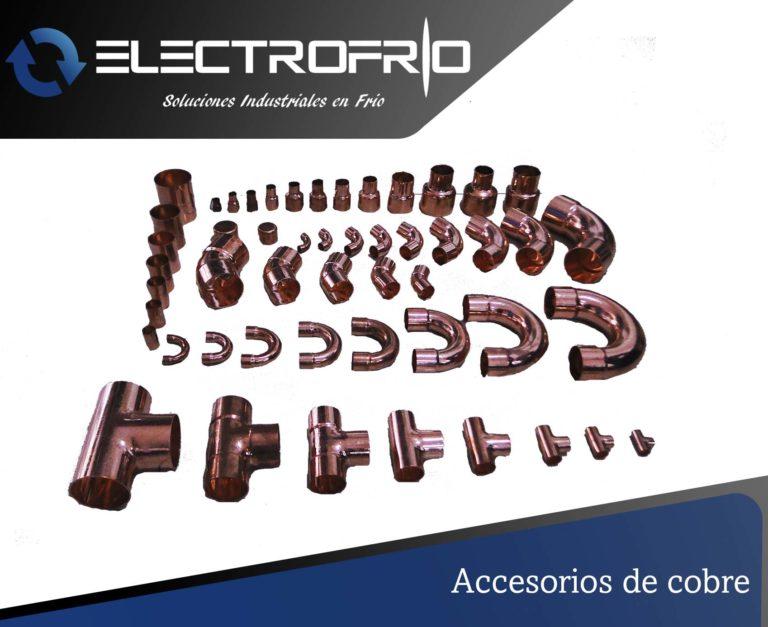 Electrofrío - Accesorios de cobre