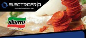 Electrofrío - Instalación de cámaras frigoríficas en SBARRO