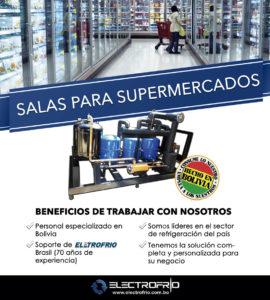 Electrofrío - Salas para supermercados