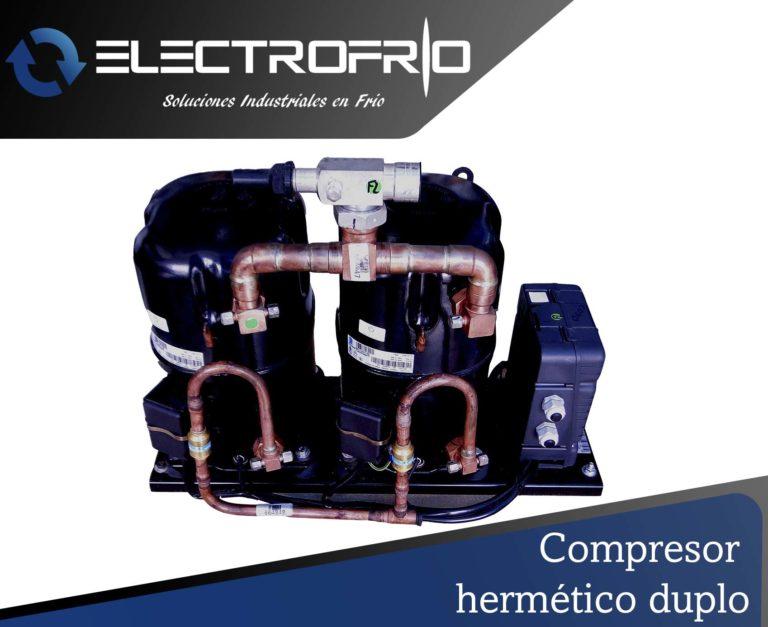Electrofrío - Compresor hermético duplo