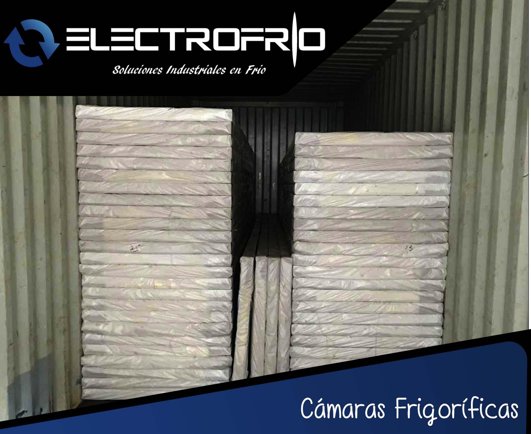 Paneles y accesorios para c maras frigor ficas electrofr o - Paneles de poliuretano ...