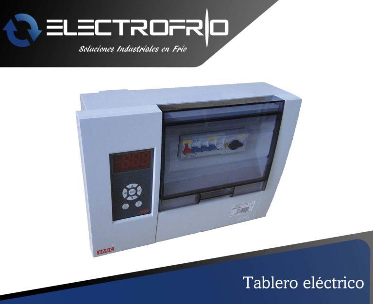 Electrofrío - Tablero eléctrico
