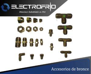 Electrofrío - Accesorios de bronce