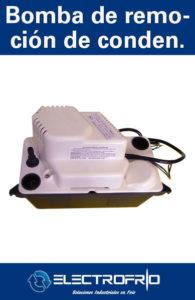 Electrofrío - Bomba de Remoción de Condensado