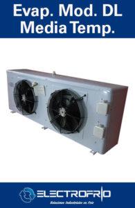 Electrofrío - Evaporador Modelo DL Media Temperatura