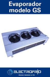 Electrofrío - Evaporador modelo GS