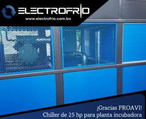 Electrofrío - Chiller enfriador de agua para PROAVI 4