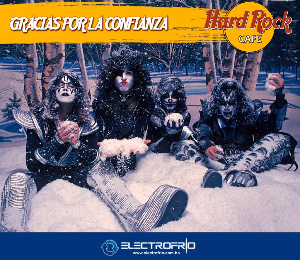 Electrofrío - Instalación de cámara frigorífica en Hard Rock Café La Paz 7