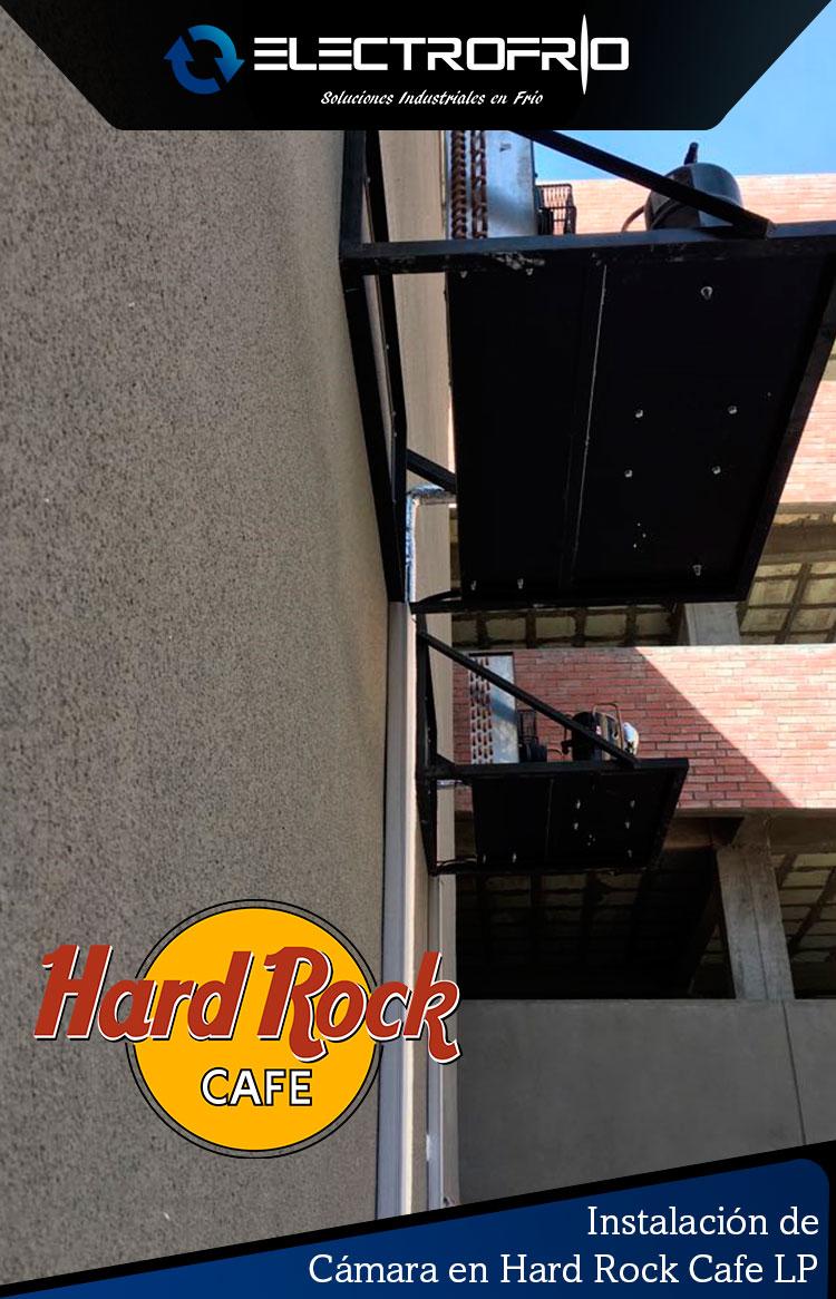 Electrofrío - Instalación de cámara frigorífica en Hard Rock Café La Paz 3