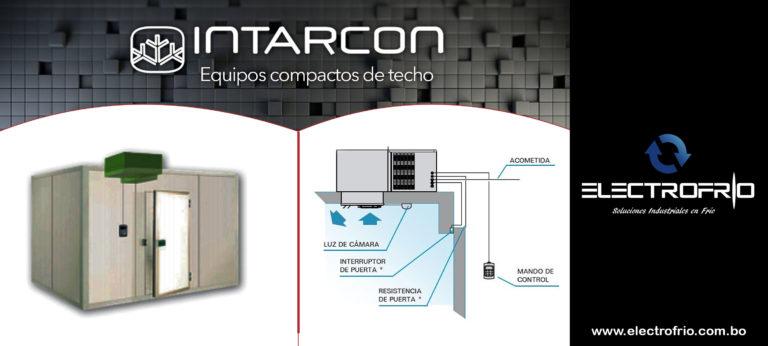 Electrofrío - Intarcon, equipos compactos de techo