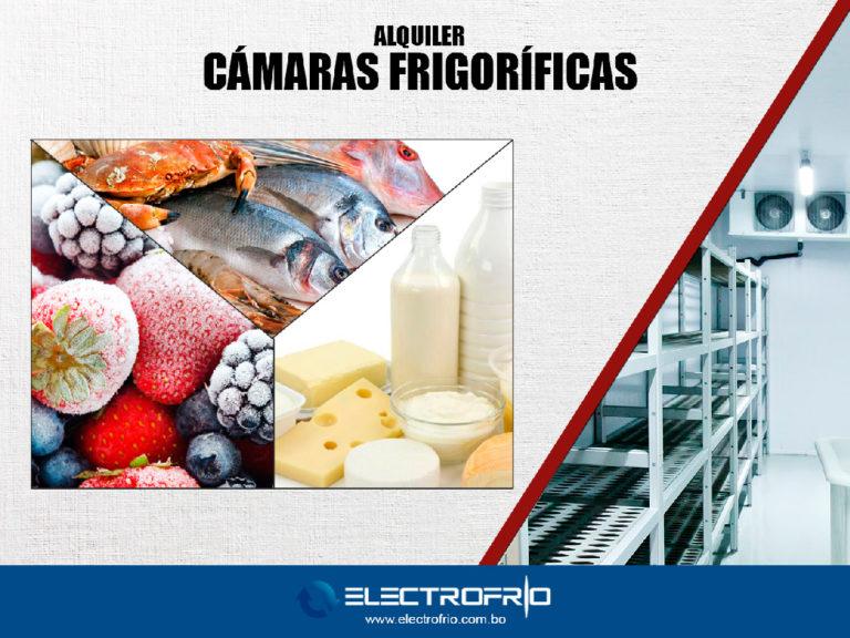 Electrofrío - Alquiler de cámaras frigoríficas en Bolivia 2