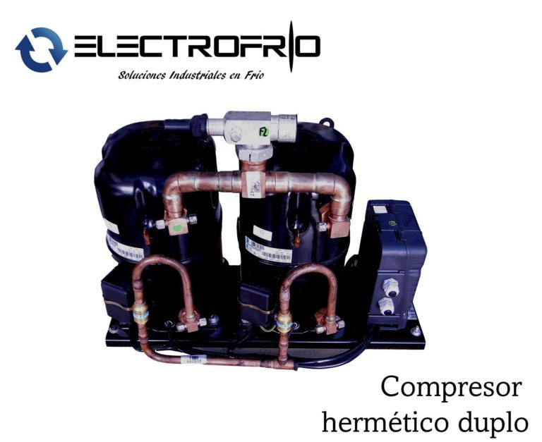 Electrofrío - Compresor hermético duplo 2