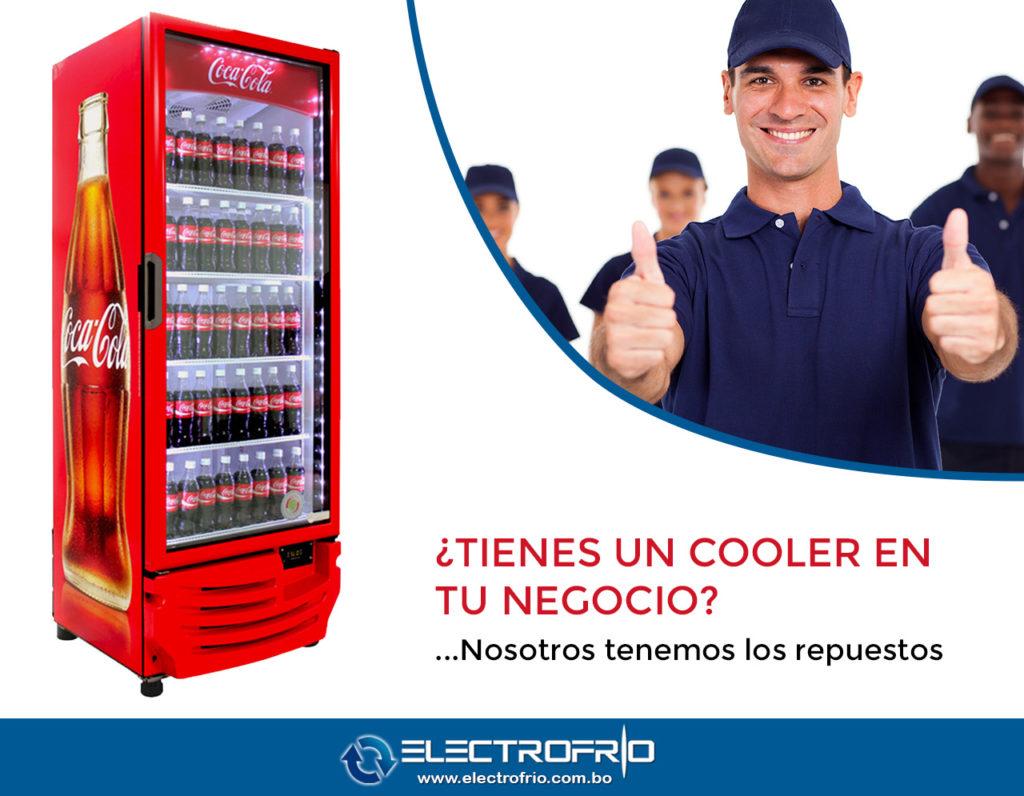 Electrofrío - Repuestos freezer Coca Cola