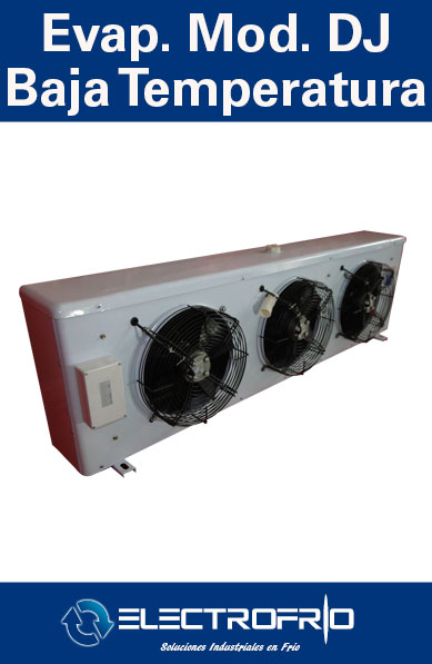 Evaporador Modelo DJ - Baja Temperatura Image